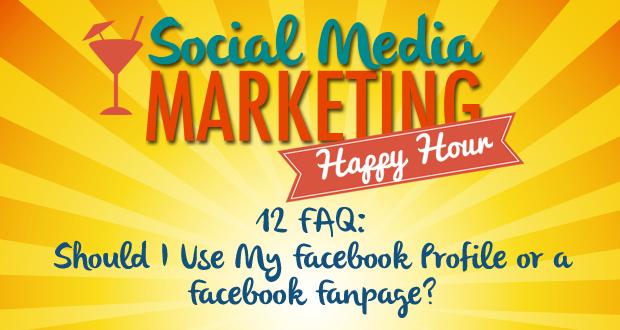 Facebook Profile or Facebook Fanpage