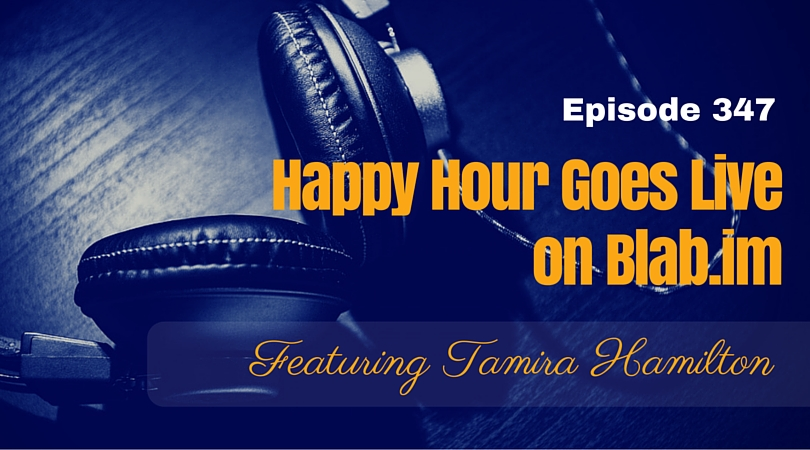 A Happy Hour First: Live Podcast & Guest